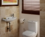 Micra 500mm slimline basin roomset
